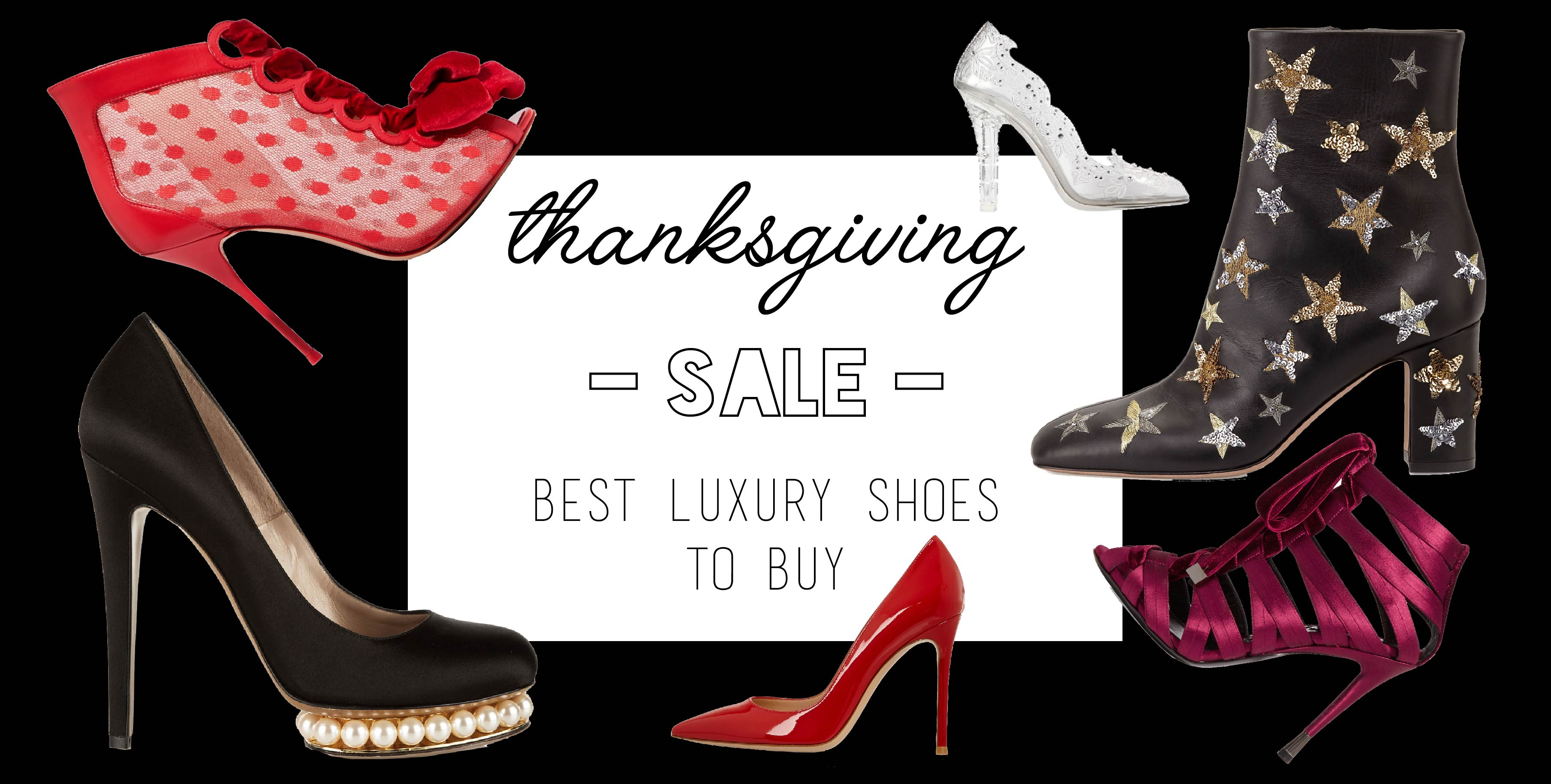 THANKSGIVING SALE BEST LUXURY SHOES TO BUY