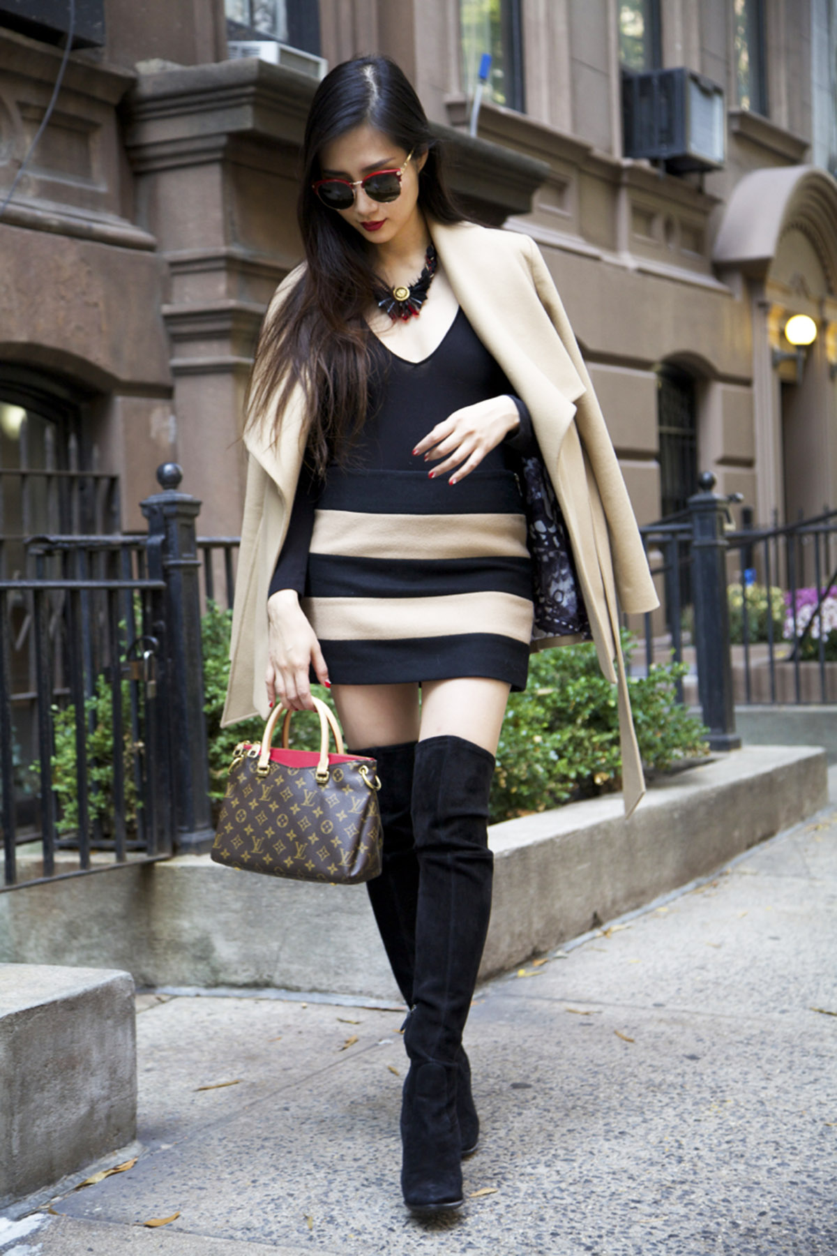 of leather and lace blog add a pop color