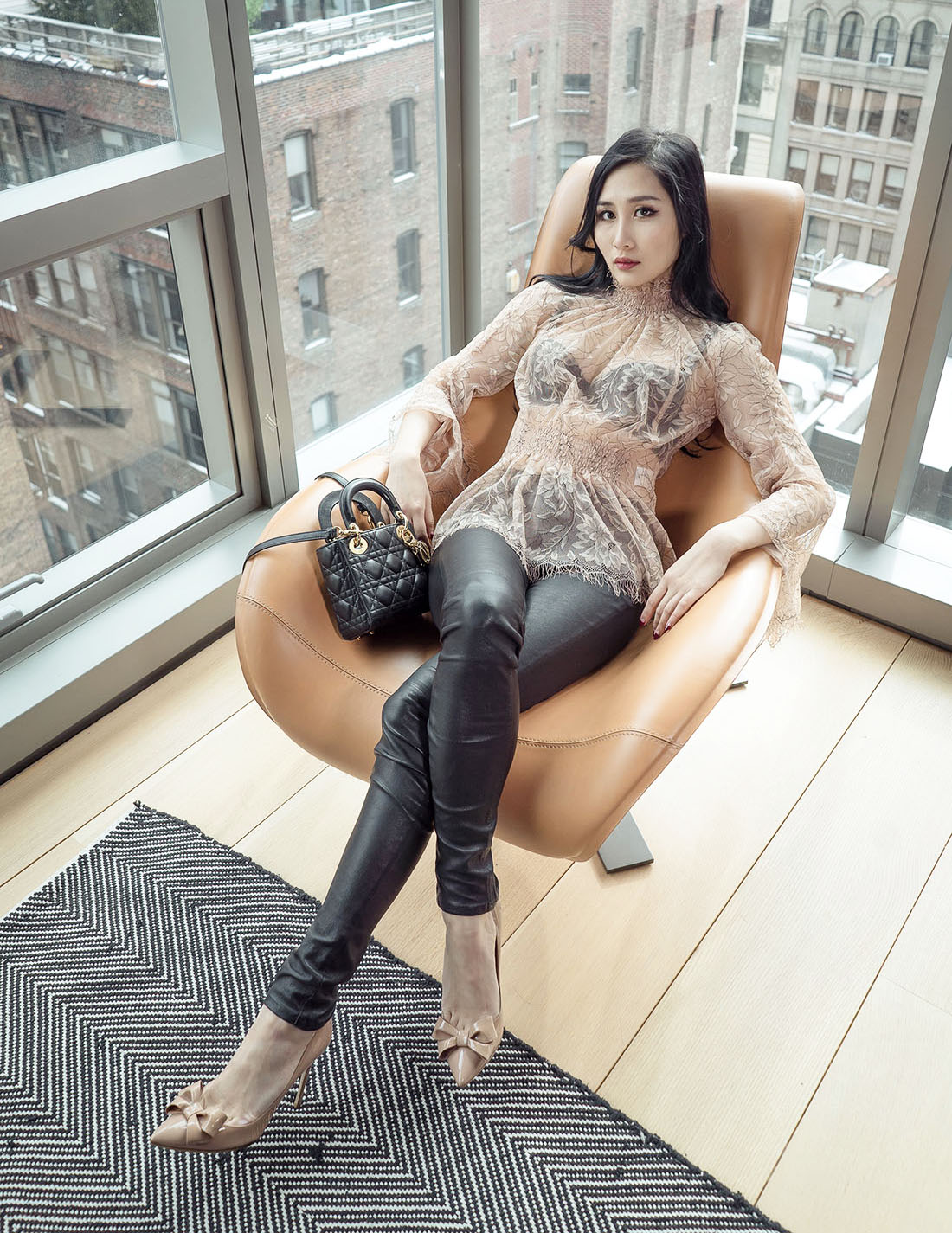 Of Leather and Lace Blog How to Style Leather and Lace with Alice McCall & Valentino
